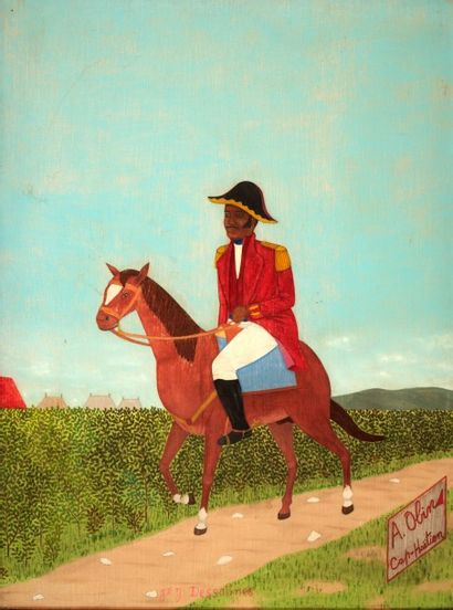 Antoine OBIN (1929-1992)  Jean-Jacques Dessalines...