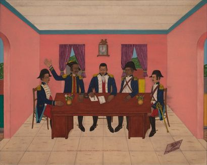 Philomé OBIN (Cap Haïtien 1891-1986)  Dessalines...