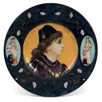 Théodore DECK (1823-1891) et Sophie SCHAEPPI...