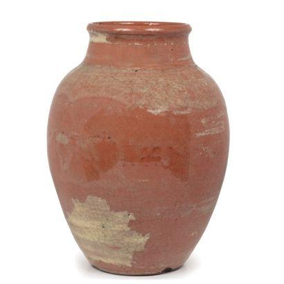 Jacques LENOBLE (1902-1967)  Grand vase de...