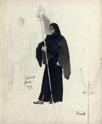 Christian Jacques BERARD (1902-1949)  Tirésias...