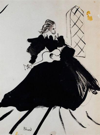 Christian Jacques BERARD (1902-1949)  Femme...