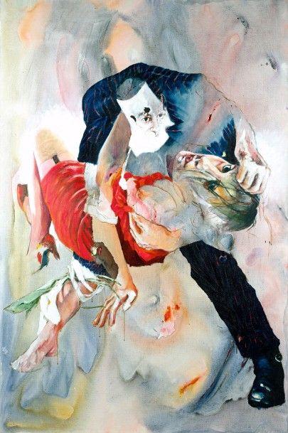 Jean-Paul CHAMBAS (Né en 1947)  Tango Soviétique...