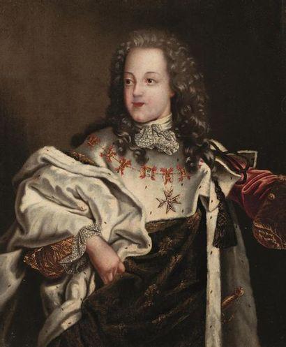 Ecole FRANCAISE du XVIIIème, suiveur d'Hyacinthe...