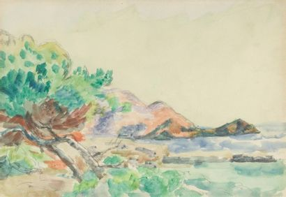 Armand GUILLAUMIN (1841-1927)Bord de mer...