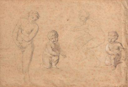 Ecole FLAMANDE du XVIIIème siècle Etude de...