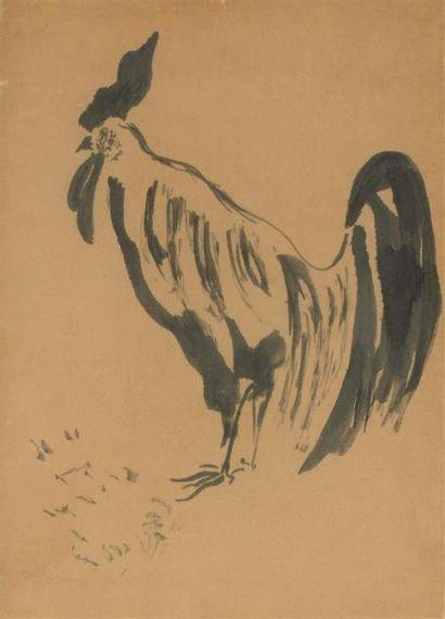 Pierre BONNARD (1867-1947)Le Coq, pour l'Histoire...