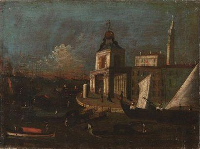 Ecole VENITIENNE du XVIIIème siècle La pointe...