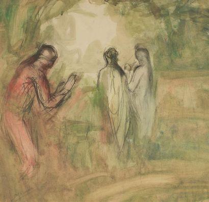 Pierre LAPRADE (1875-1931)Femmes dans la...