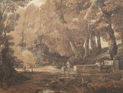 Attribué à Pierre Henri de VALENCIENNES (1750...