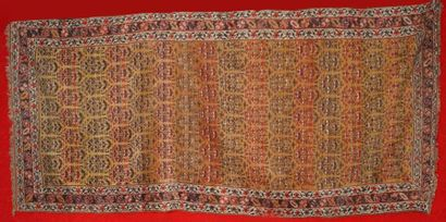 Ancien tapis KURDE (Nord Ouest de la Perse)...