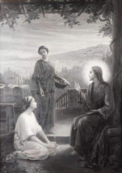 J. ROCHEBERT, école symboliste du XIXe siècle