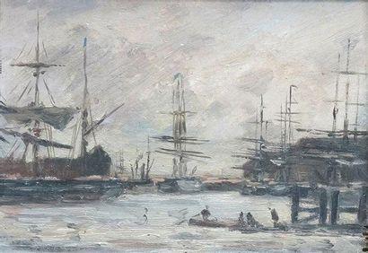 ÉCOLE DE ROUEN, fin du XIXe siècle