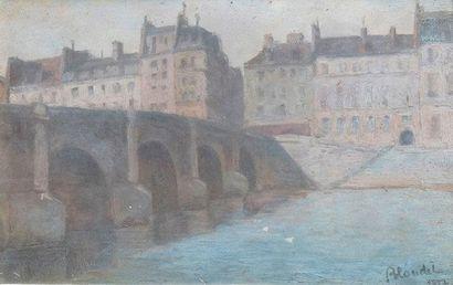 André BLONDEL - 1909-1949