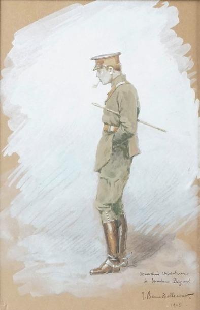 Jean-Jacques BERNE-BELLECOUR, né en 1874