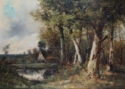 Paul ARMANDI, école française du XIXe siècle
