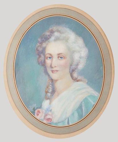 Francisque Edouard BERTIER, école française du XIXe siècle