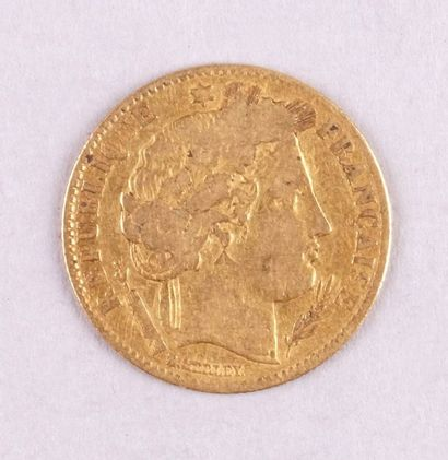 PIÈCE de 10 FRANCS OR au coq. Année 1899