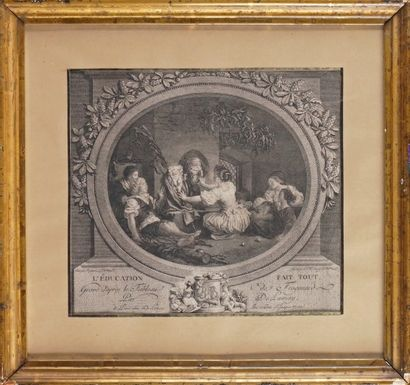 Nicolas DELAUNAY (1739-1792) d'après FRAGONARD