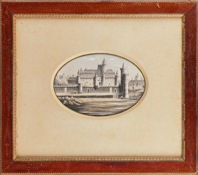 V. GUILLEMIN, école française du XIXe siècle