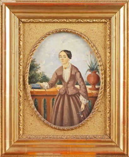 L. MOUTIER, école du XIXe siècle