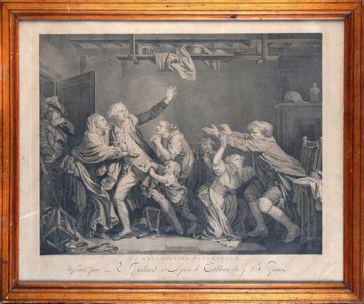 René GAILLARD (1722-1790) d'après Jean-Baptiste GREUZE