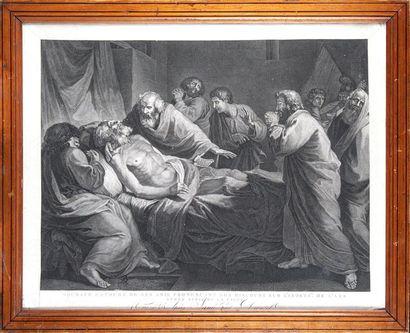 Eustache ou Jacques Claude DANZEL, XVIII-XIXème d'après LANÉ
