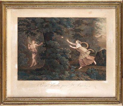 1 - Parfait AUGRAND (1782-?) d'après LAFILLE...