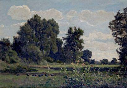 Henri-Joseph HARPIGNIES 1819-1916