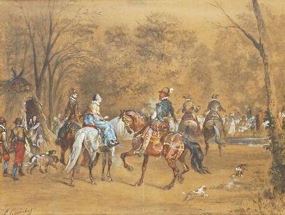 Othon QUINCHEY - 1820-1876