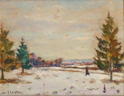 Emmanuel de LA VILLÉON - 1858-1944