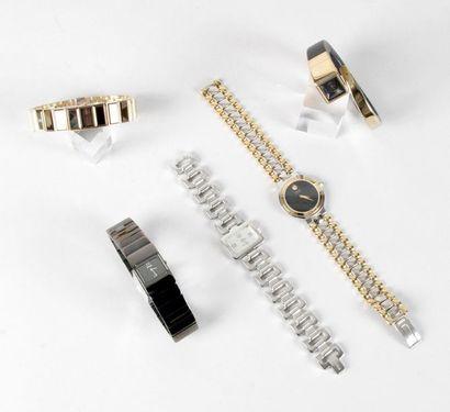 LOT composé de 5 montres à quartz à l'état...