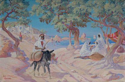 Paul-Loÿs ARMAND, école orientaliste du XXe siècle
