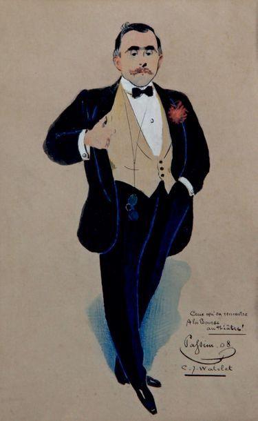 Charles Joseph CHATELET - 1867-1954