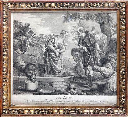 Louis JACOB, école française du XVIIe siècle d'après Paul VÉRONÈSE