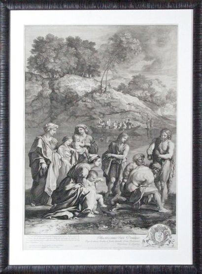 Gérard AUDAN (1640-1703) d'après Nicolas POUSSIN