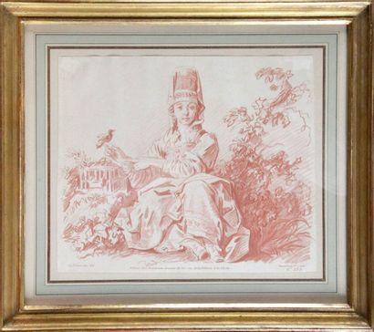 LOT de trois gravures anciennes du XVIIIe...