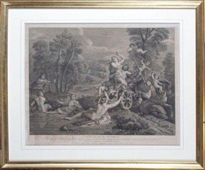 Louis Simon LEMPEREUR (1728-1807) d'après Charles de LA FOSSE