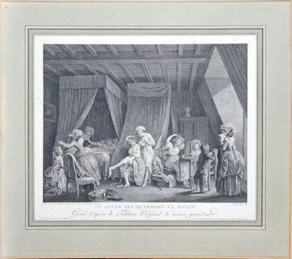François DEQUEVAUVILLER (1785-1807) d'après Nicolas LAVREINCE