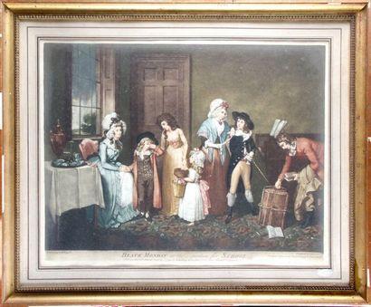 John JONES (ca 1745-1797) d'après William Redmore BIGG (1755-1828)