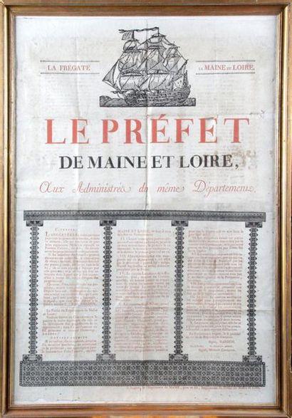 ARRÊTÉ DU PRÉFET DU MAINE-ET-LOIRE NARDON...