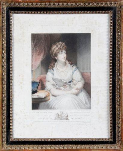 Frédérick Christian LEWIS (1779-1856) d'après Thomas LAWRENCE