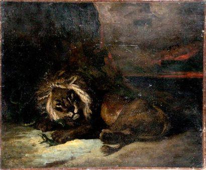 ÉCOLE ROMANTIQUE FRANÇAISE vers 1840, suiveur de Théodore GÉRICAULT