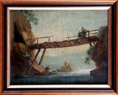 FRANCE, fin du XIXe siècle, d'après Hubert ROBERT