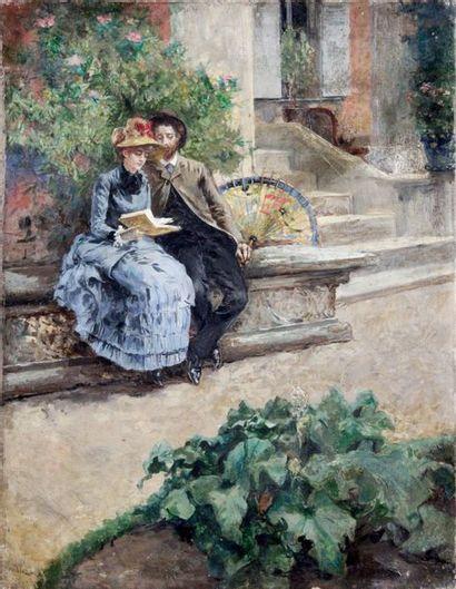 W. RICHARD?, école française fin XIXe siècle-