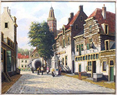 P.C. STEEN-HOUVER, École Anglaise du XXe siècle