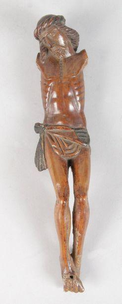 CHRIST en tilleul d'époque XVIIe siècle....