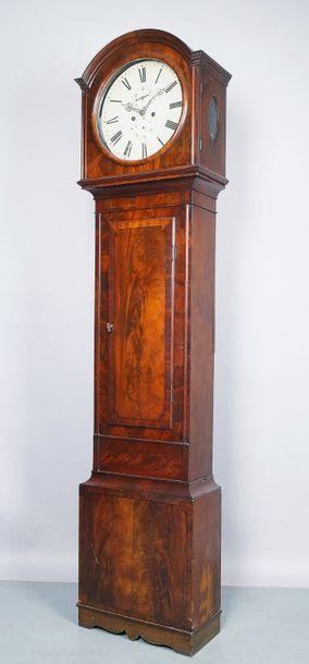 HORLOGE DE PARQUET ANGLAISE du XIXe siècle...