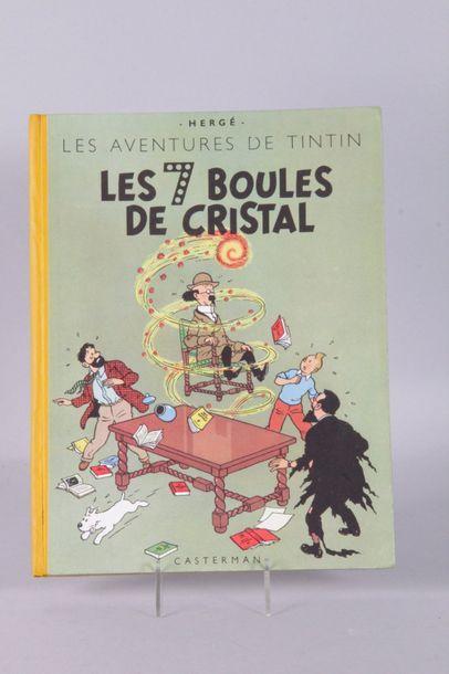 Album de TINTIN: Les 7 boules de cristal...