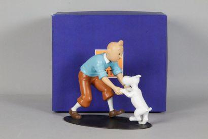Collection «Rencontres» La joie de Tintin...